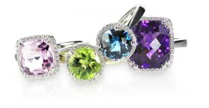 Rocks, Minerals, and Gemstones-Gemstone Rings