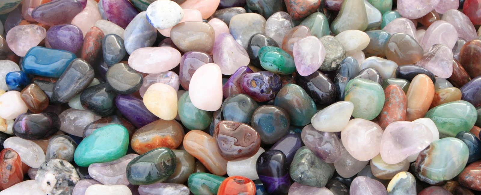 rocks, mineralss, and gemstones - tumbled gemstones