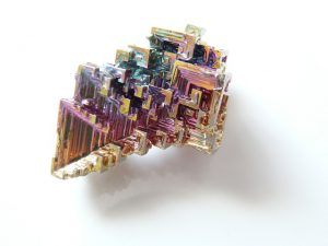 Rocks, Minerals, and Gemstones-Bismuth