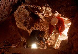 Inside Four Peaks Amethyst Mine