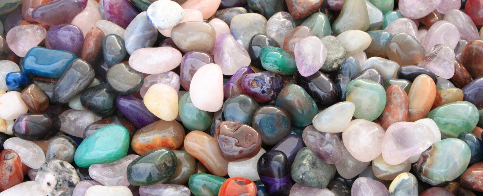 rocks, mineralss, and gemstones - tumbled gemstones